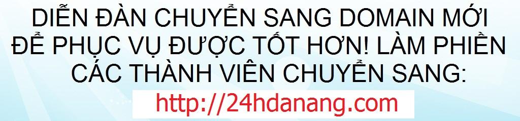 DIỄN ĐÀN RAO VẶT 24H ĐÀ NẴNG