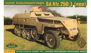 SDKFZ-231(6 roues)+  Sd.Kfz.251/1 + kubelwagen 1/72 Italeri  +  Sd.Kfz.251/1 Ace-7210