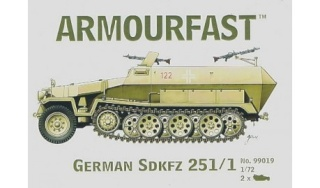 SDKFZ-231(6 roues)+  Sd.Kfz.251/1 + kubelwagen 1/72 Italeri  +  Sd.Kfz.251/1 Armour10