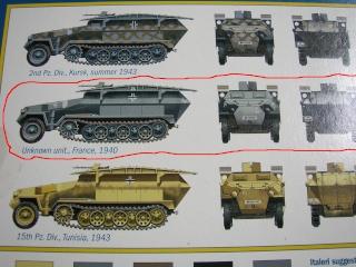 SDKFZ-231(6 roues)+  Sd.Kfz.251/1 + kubelwagen 1/72 Italeri  +  Sd.Kfz.251/1 Dscn3315