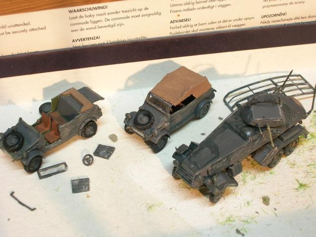 SDKFZ-231(6 roues)+  Sd.Kfz.251/1 + kubelwagen 1/72 Italeri  +  Sd.Kfz.251/1 Dscn3318