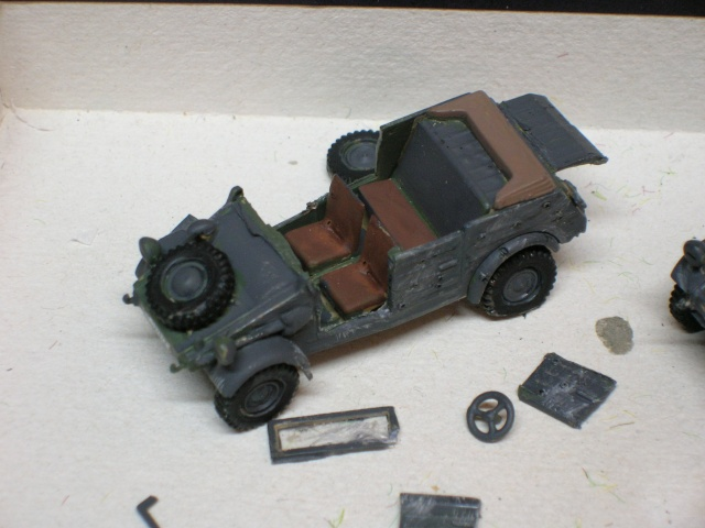 SDKFZ-231(6 roues)+  Sd.Kfz.251/1 + kubelwagen 1/72 Italeri  +  Sd.Kfz.251/1 Dscn3319