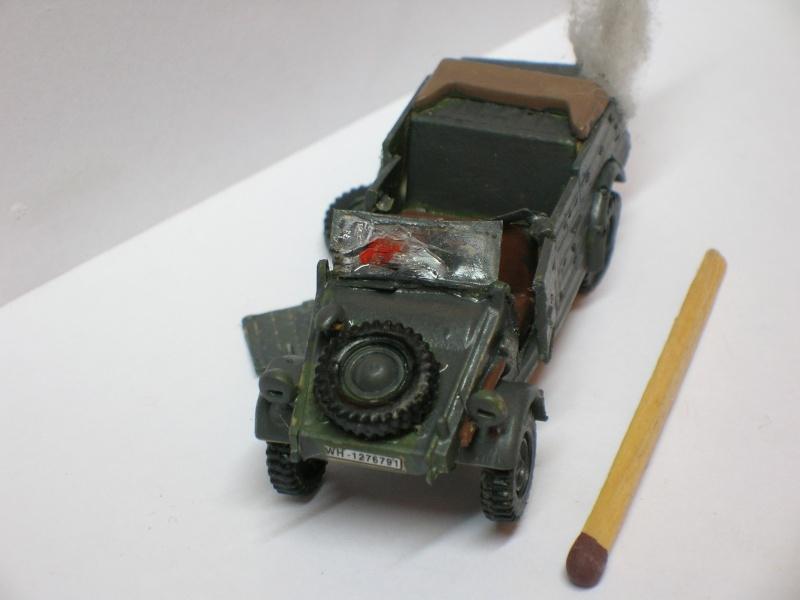 SDKFZ-231(6 roues)+  Sd.Kfz.251/1 + kubelwagen 1/72 Italeri  +  Sd.Kfz.251/1 Dscn3411
