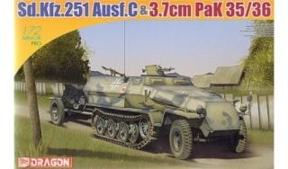 SDKFZ-231(6 roues)+  Sd.Kfz.251/1 + kubelwagen 1/72 Italeri  +  Sd.Kfz.251/1 Sd-kfz10