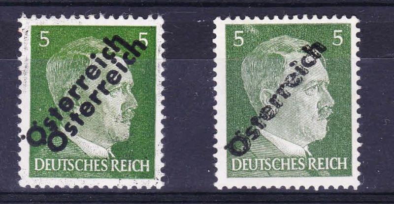 Briefmarken - I. Wiener Aushilfsausgabe, erste Ausgabe Unbena15