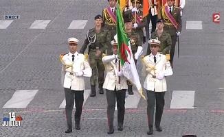 Invitée par Hollande, l'Algérie défile le 14 juillet sur les Champs Elysées ! Dafila11