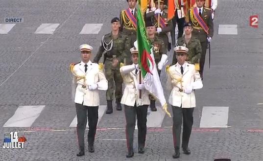 """L'armée d'Algérie coupable de crimes contre l'humanité """"mise à l'honneur"""" ce 14 juillet  Dafila12"""