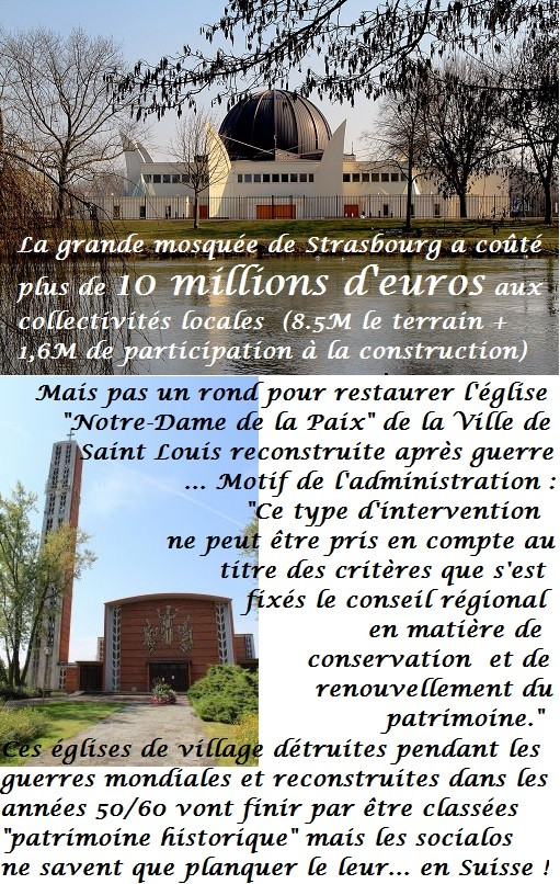 Strasbourg  Scènes de délinquance ordinaire  Eglise10