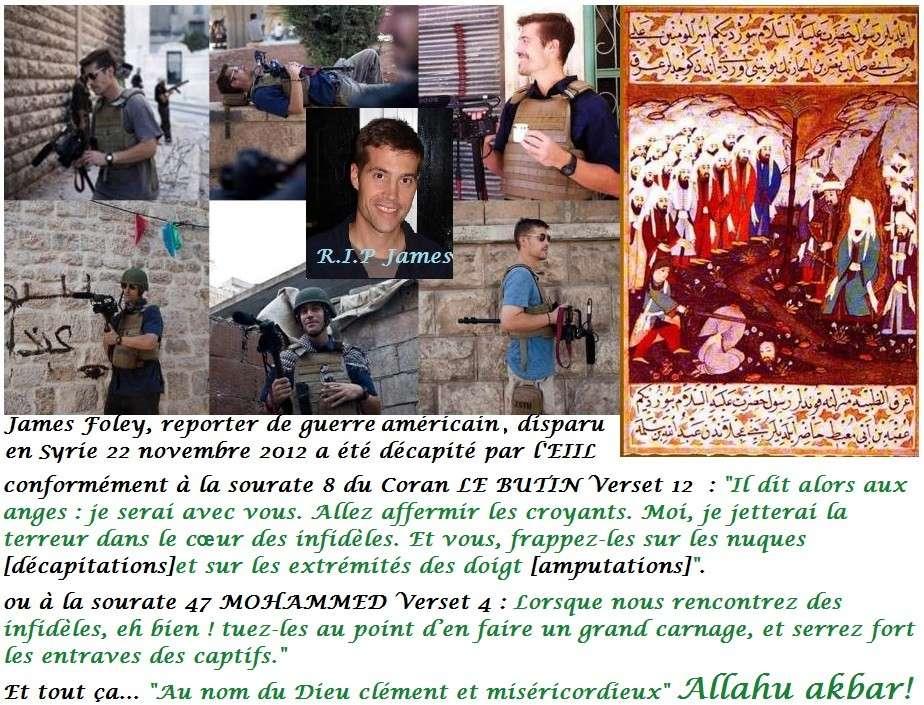 Intervention choc de Frédéric  Pons sur le silence des musulmans  James_10