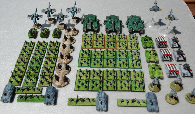 Wargh - Garde Impériale - 3000pts Cda10