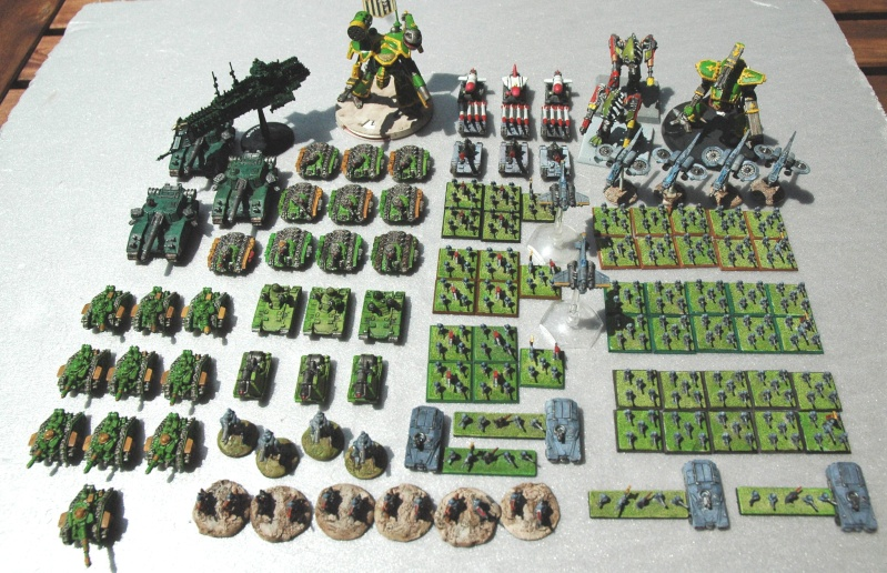Wargh - Garde Impériale - 3000pts Gi10