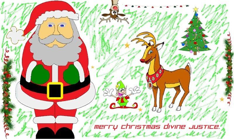 Santa Drawing Contest Santa112