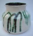 Studio vase marked FA Marks106