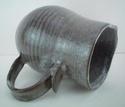 Stoneware pottery jug marked MC  Marks115