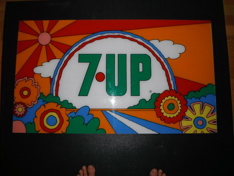 enseigne 7up peter max  02410