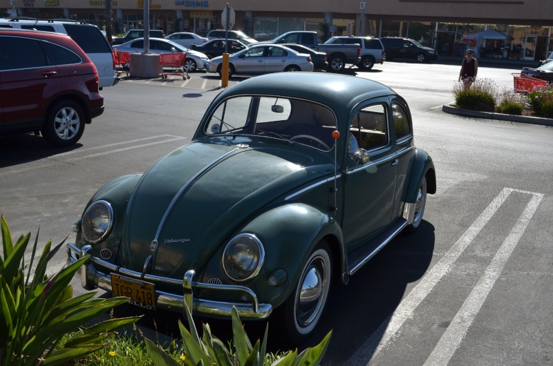 Ein paar amerikanische Oldtimer und ein Käfer Image90