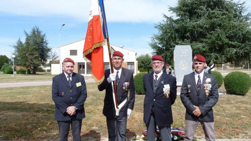 St MICHEL 1er RCP Pamiers - Hommage aux morts des 1er RCP et 9ème RCP P1060847