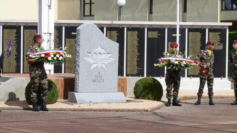 St MICHEL 1er RCP Pamiers - Hommage aux morts des 1er RCP et 9ème RCP P1060848