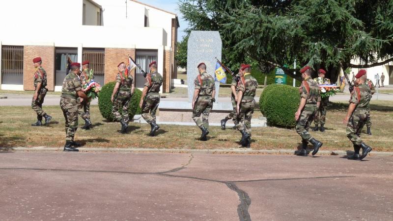 St MICHEL 1er RCP Pamiers - Hommage aux morts des 1er RCP et 9ème RCP P1060849