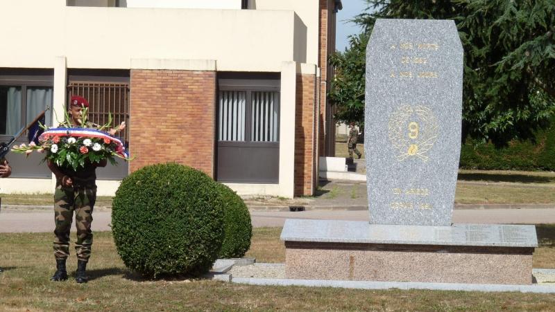 St MICHEL 1er RCP Pamiers - Hommage aux morts des 1er RCP et 9ème RCP P1060850