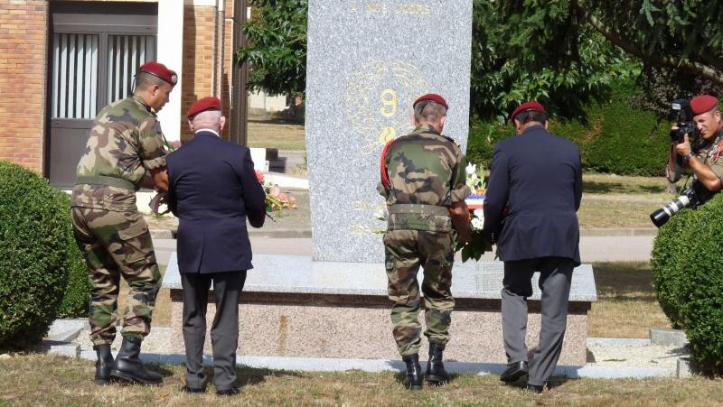 St MICHEL 1er RCP Pamiers - Hommage aux morts des 1er RCP et 9ème RCP P1060851