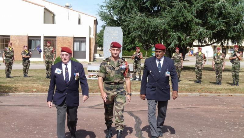 St MICHEL 1er RCP Pamiers - Hommage aux morts des 1er RCP et 9ème RCP P1060852