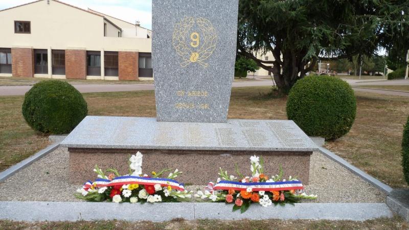 St MICHEL 1er RCP Pamiers - Hommage aux morts des 1er RCP et 9ème RCP P1060853