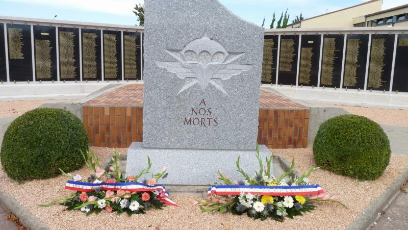 St MICHEL 1er RCP Pamiers - Hommage aux morts des 1er RCP et 9ème RCP P1060854