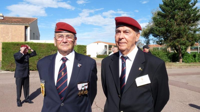 ST MICHEL au 1er RCP à Pamiers la journée des anciens des 1er RCP et 9ème RCP P1060855