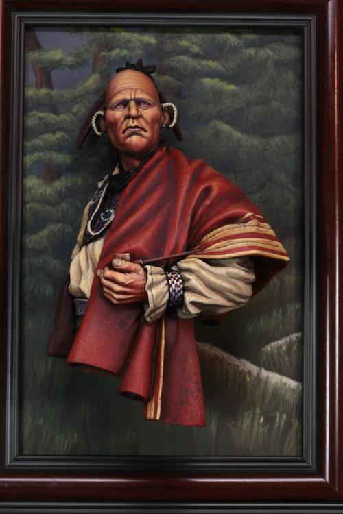 Buste de Cherokee Terminé Etape110