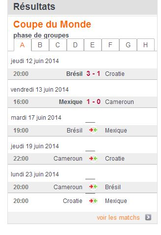 COUPE DU MONDE FOOTBALL 2014 A10