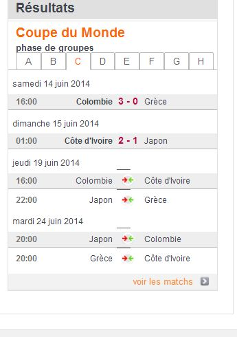 COUPE DU MONDE FOOTBALL 2014 C10