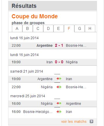 COUPE DU MONDE FOOTBALL 2014 F10