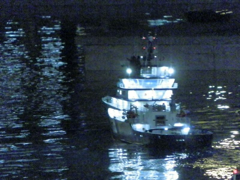 navigation nocturne à LA SEYNE 01110
