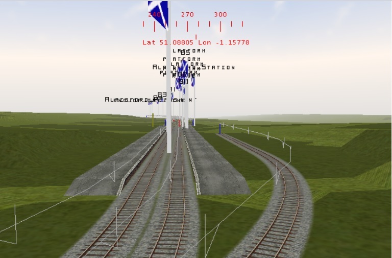 Midhants Railway / Watercressline Route Alresf12