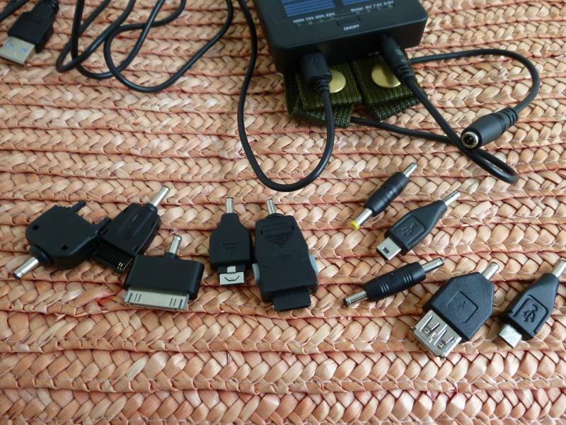 Chargeur Solaire pour Smartphone et autres appareils. P1020719