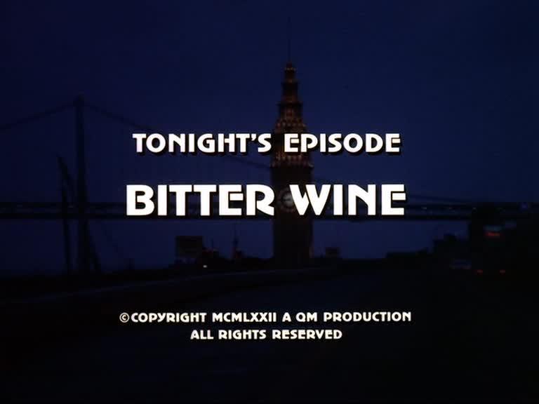 Saison 1 - Episode 12 : Le vin est tiré Vlcsna10