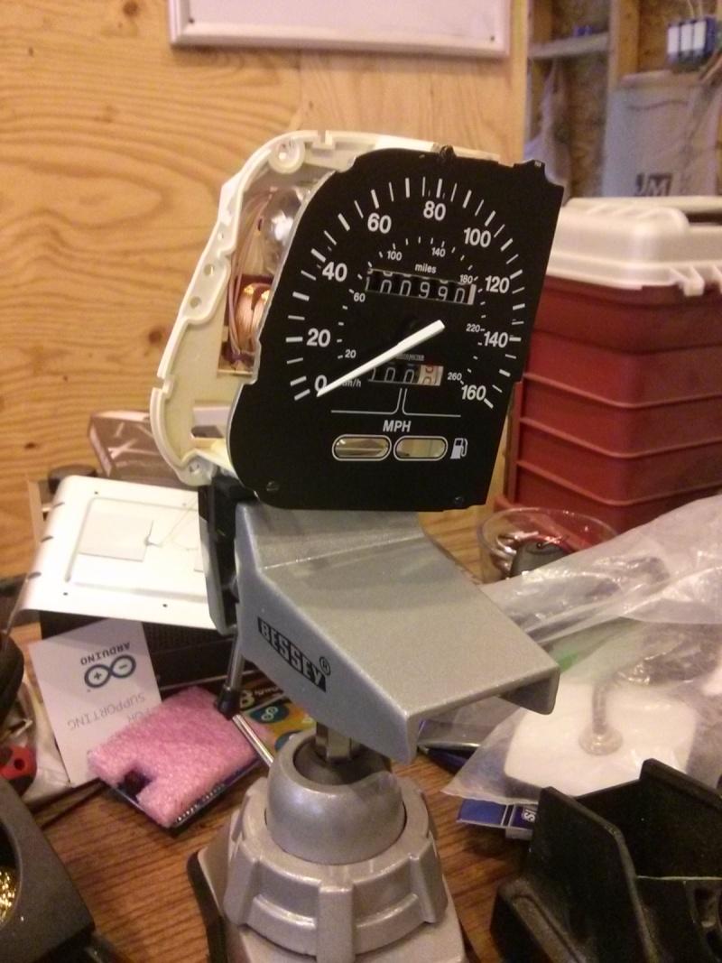 Speedometer bench testing 2013-012