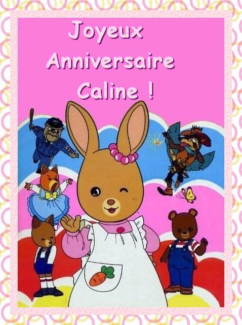 Joyeux anniversaire Caline B1523010