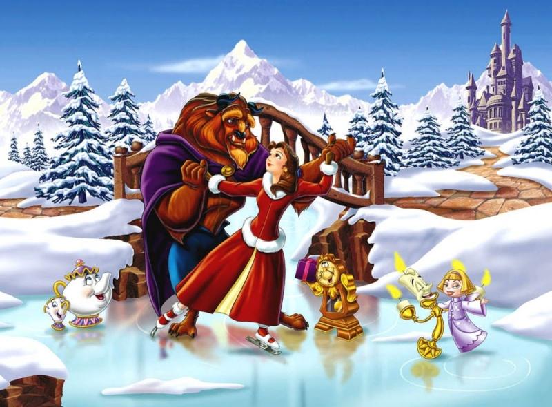 La Belle et la Bête 2 : Le Noël enchanté [1997] [F.Anim]  Maxres11