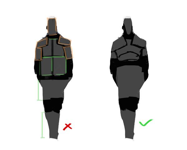 [tuto] Pensées sur le Character Design Prprtn10