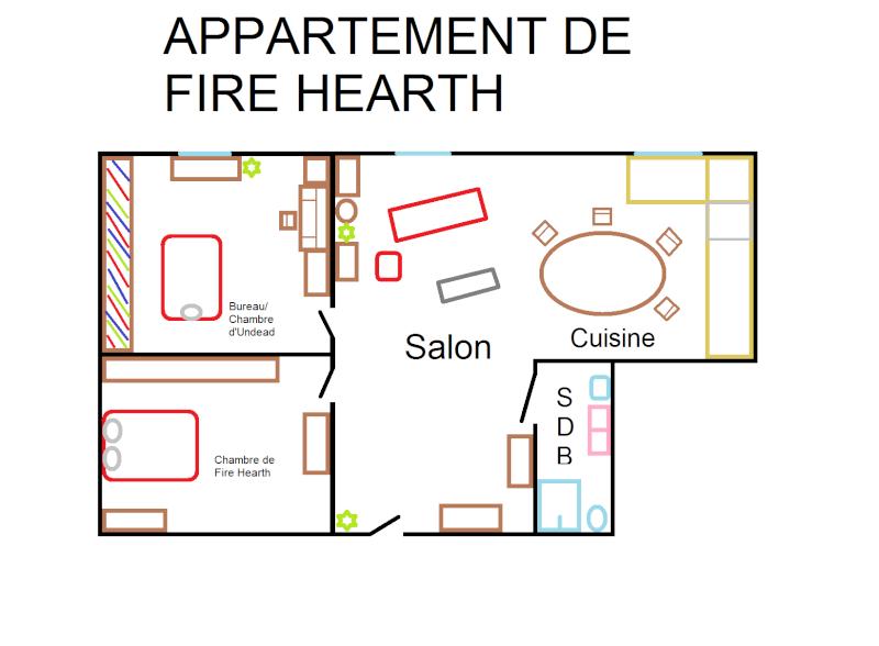 Plan des habitations Appart10