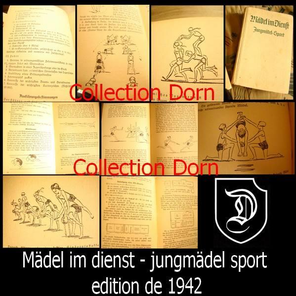 Collection Dorn,en vrac,Hitlerjugend et Bund Deutscher Mädel ... 15136510