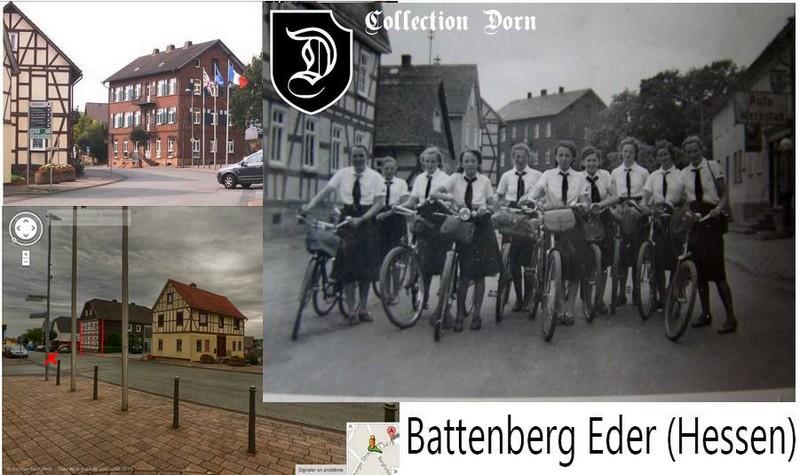 Collection Dorn,en vrac,Hitlerjugend et Bund Deutscher Mädel ... Batten10