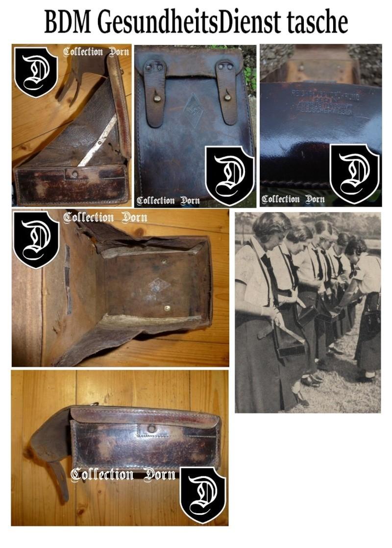 Collection Dorn,en vrac,Hitlerjugend et Bund Deutscher Mädel ... Bdm9410