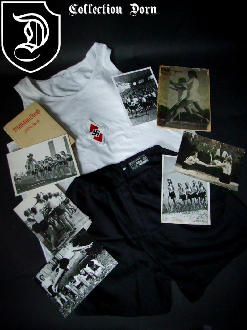 Collection Dorn,en vrac,Hitlerjugend et Bund Deutscher Mädel ... Dsc03510