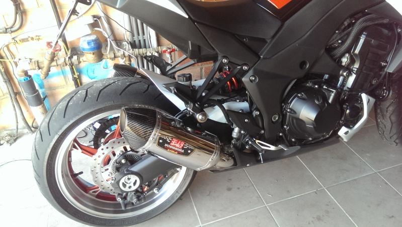 [VENDU]Yoshimura R-77 Slip-On Exhaust Kawasaki Z1000 2010-2013 2014-014