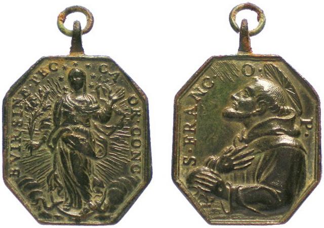 Recopilacion medallas  San Francisco de Asis 083inm10