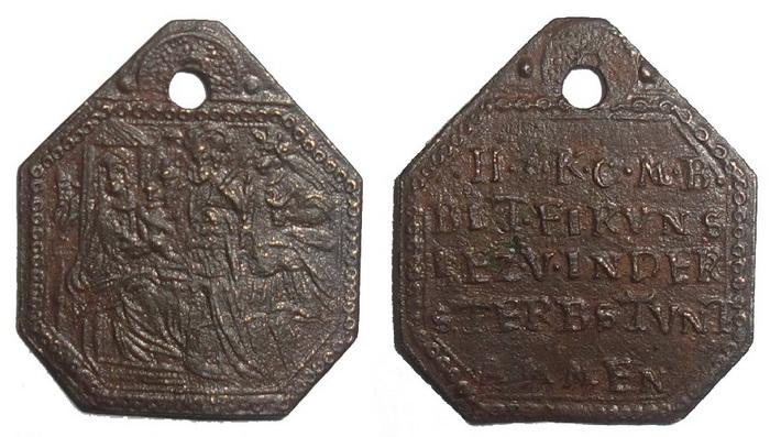 ICONOGRAFIA de la NATIVIDAD en las medallas devocionales 110wq410