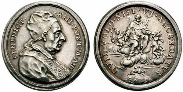 Recopilación medallas de Santo Domingo de Guzmán. Notas iconográficas. 1726_e10